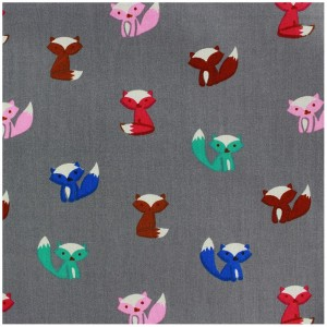 tissu-coton-qjutie-kids-fox-gris-x-10cm